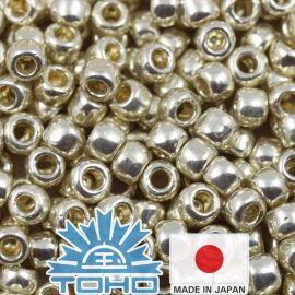 TOHO® Seed Beads PermaFinish - Galvanized Aluminum TR-11-PF558 11/0 (2.2 mm) 10 g.