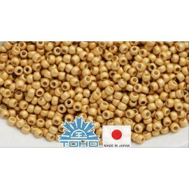 TOHO® Biseris PermaFinish - Matte Galvanized Starlight TR-11-PF557F 11/0 (2,2 mm) 10 g.