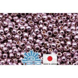 TOHO® Biseris PermaFinish - Galvanized Lilac TR-11-PF554 11/0 (2,2 mm) 10 g.