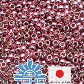 TOHO® sēklu krelles PermaFinish - cinkota rozā ceriņi TR-11-PF553 11/0 (2,2 mm) 10 g.