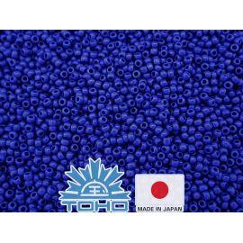 TOHO® Seed Beads Opaque Navy Blue TR-11-48 11/0 (2.2 mm) 10 g.