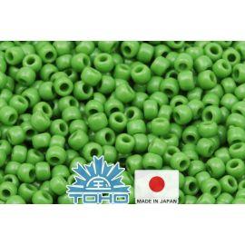 TOHO® seemnehelmed läbipaistmatu piparmündiroheline TR-11-47 11/0 (2,2 mm) 10 g.