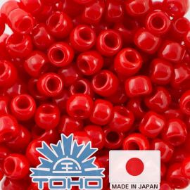 TOHO® Seed Beads Opaque Cherry TR-11-45A 11/0 (2,2 mm) 10 g.