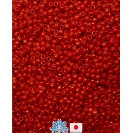 TOHO® Seed Beads Opaque Pepper Red 11/0 (2.2 mm) 10 g.