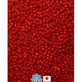 TOHO® sēklu pērles necaurspīdīgs pipari sarkanais 11/0 (2,2 mm) 10 g.