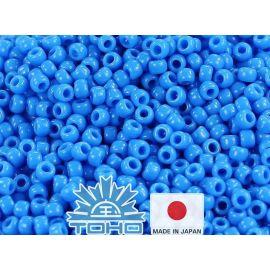 TOHO® Seed Beads Opaque Cornflower 11/0 (2.2 mm) 10 g.