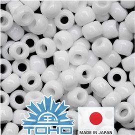 TOHO® Seed Beads Opaque White TR-11-41 11/0 (2.2 mm) 10 g.