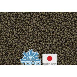 Бисер TOHO® Frosted Antique Bronze TR-11-223F 11/0 (2,2 мм) 10 г.