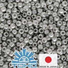 TOHO® Seed Beads Ceylon Smoke 11/0 (2.2 mm) 10 g.
