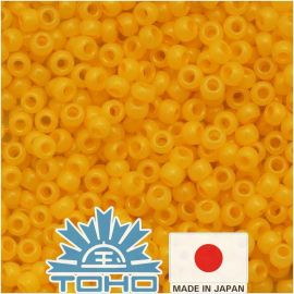 TOHO® Seed Beads Ceylon Frosted Peach Cobler 11/0 (2.2 mm) 10 g.