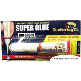 Sekundiniai klijai (super glue) Techniqll C-808 2 g.