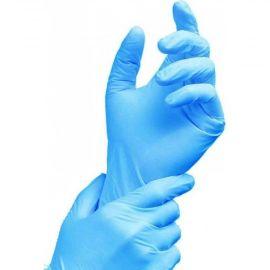 Vienreizlietojamie nitrila cimdi, S izmērs, zili - 10 pāri