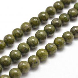 Natural Granite 8 mm., 1 strand