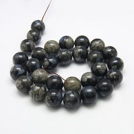 Natural Grey Opal 8 mm., 1 strand