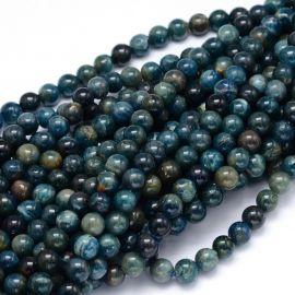Natural Apatite beads 8.5 mm., 1 strand