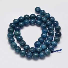 Natural Apatite beads 8-9 mm., 1 strand