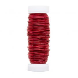 GRIFFIN copper wire 0.50 mm., 1 coil red