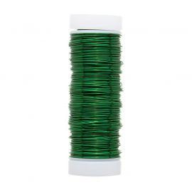 GRIFFIN copper wire 0.50 mm., 1 coil dark green