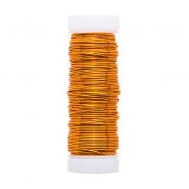 GRIFFIN copper wire 0.50 mm., 1 coil orange