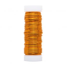 GRIFFIN varinė vielutė 0.50 mm., 1 ritė oranžinės spalvos