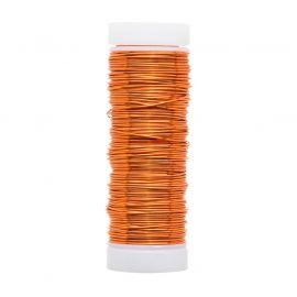 GRIFFIN copper wire 0.50 mm., 1 coil red-orange