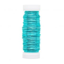 GRIFFIN copper wire 0.50 mm., 1 coil of bluish-green