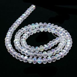 Glass beads 3x2 mm., 1 strand