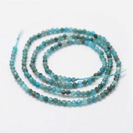 Natural Apatito beads 2 mm., 1 strand