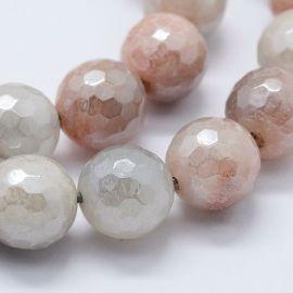 Покрытие Natural Solar Stone Beads 7,5-8 мм., 1 нитка