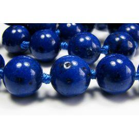 Lapis Lazuli karoliukai 10 mm