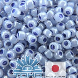 TOHO® Seed Beads Ceylon Virginia Bluebell 11/0 (2.2 mm) 10 g., 1 bag for keystones lilac