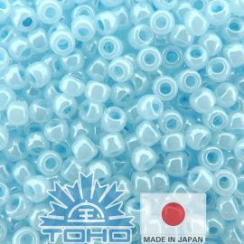TOHO® Caier Ceylon Forget-Me-Not 11/0 (2.2 mm) 10 g., 1 bag for key blue