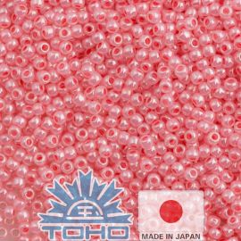 TOHO® Seed Beads Ceylon Impatiens Pink 11/0 (2.2 mm) 10 g., 1 bag for pink