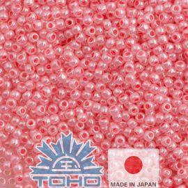 TOHO® Seed Beads Ceylon Impatiens Pink 11/0 (2.2 mm) 10 g.