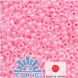 TOHO® Seed Beads Ceylon Cotton Candy 11/0 (2.2 mm) 10 g., 1 bag for pink pink