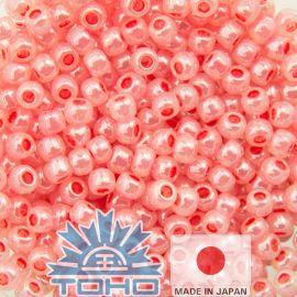 TOHO® Seed Beads Ceylon Tomato Soup 11/0 (2.2 mm) 10 g., 1 bag for pink