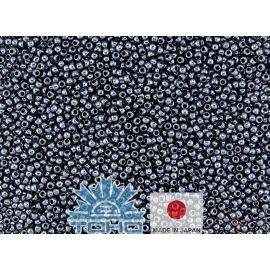 TOHO® Seed Beads Metallic Hematite 11/0 (2.2 mm) 10 g.