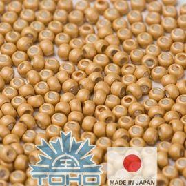 Бисер TOHO® Seed Beads Galvanized-Matte Starlight 11/0 (2,2 мм) 10 г, 1 пакетик для основных горчичных цветов
