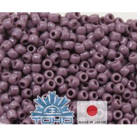 TOHO® Seed Beads Opaque Lavender 11/0 (2.2 mm) 10 g.