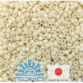 TOHO® Biseris Opaque Lt Beige 11/0 (2,2 mm) 10 g.