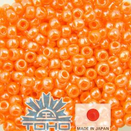 TOHO® Seed Beads Orange 11/0 (2.2 mm) 10 g.