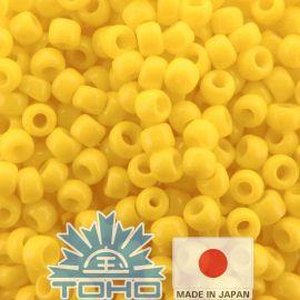 TOHO® seemnehelmed läbipaistmatu päikesepaistet 11/0 (2,2 mm) 10 g., 1 kott võtmerikka kollase jaoks