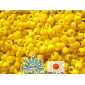 Бисер TOHO® Seed Beads Opaque Dandelion 11/0 (2.2 мм) 10 г, 1 пакетик для ключей желтый