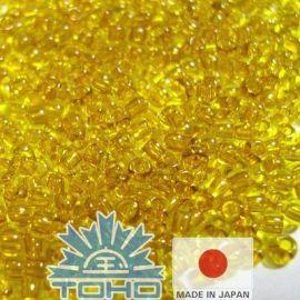 TOHO® Seed Beads Transparent Chamomile 11/0 (2.2 mm) 10 g.