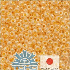 TOHO® Seed Beads Ceylon Peach Cobler 11/0 (2.2 mm) 10 g.