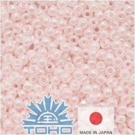 TOHO® Seed Beads Ceylon Soft Pink 11/0 (2.2 mm) 10 g.