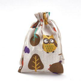 Poliesterio medvilnės dekoratyviai dovanų maišeliai