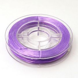 Elastic rubber for necklace bracelets for jewelry Purple