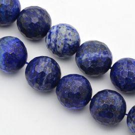 Dabiskās Lapis Lazuli krelles, 14 mm, 1 pavediens