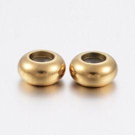 Stainless steel 304 stopper 2 pcs, 6x3 mm, 1 bag